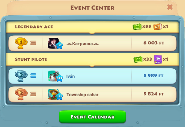 ¡Aerial Challenge! 2020-Jun-26 My leaderboard