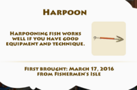 Harpoon Artifact