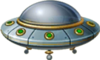 Flying Saucer Model Icon