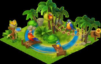 Macaw Enclosure