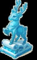 Ice Sculpture Reindeer