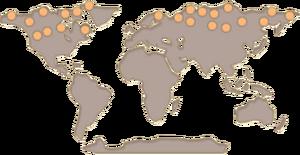 Reindeer Map