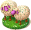 Sheep Flowerbed