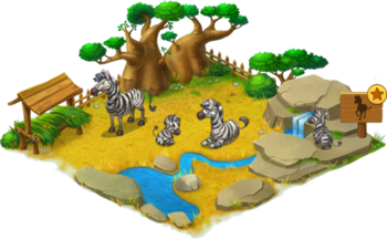 Zebra Enclosure