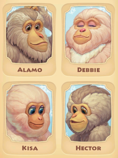 Snow Monkey Page