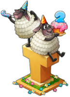 2nd Birthday Sheep