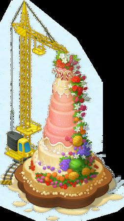 Biggest Cake Layer 8