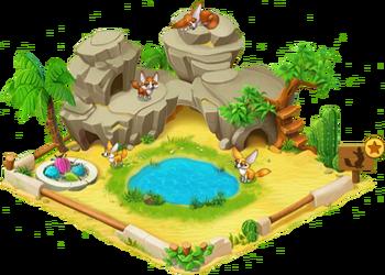 Fennec Fox Enclosure