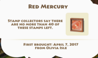 Red Mercury Artifact