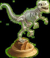 T-Rex Fossil Statue