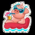 Sticker- Pig1