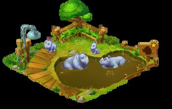 Rhinoceros Enclosure