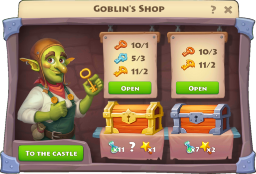 Scroll Hunt Goblin's Shop