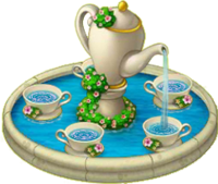 Tea Party Fountain
