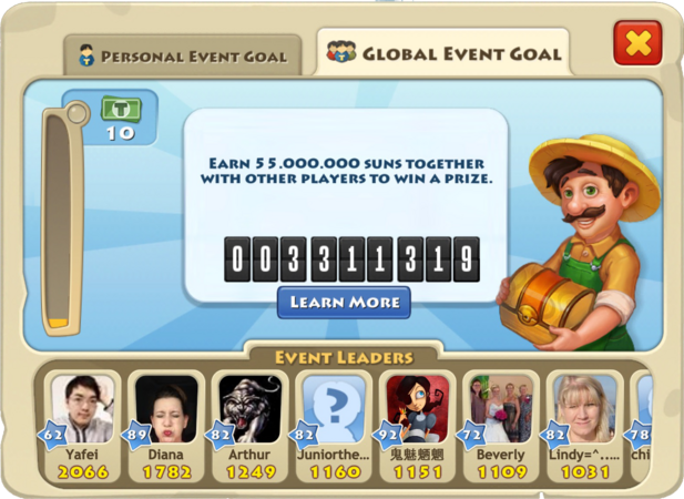 Thanksgiving 2014 Global Goal