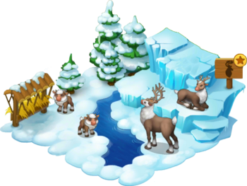 Reindeer Enclosure