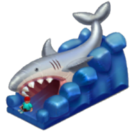 Shark Jaw Trampoline