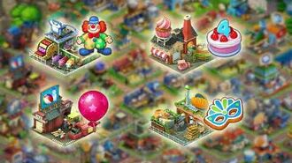 Township Birthday Event has started Welcome to the amusement park!