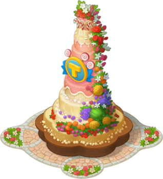 Biggest Cake Layer 9