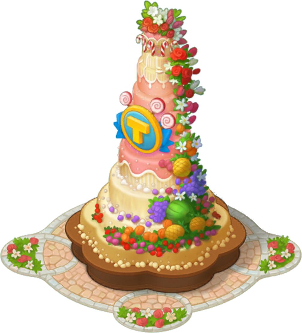 Excellent Biggest Cake Township Wiki Fandom Funny Birthday Cards Online Barepcheapnameinfo