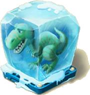Frozen T-Rex