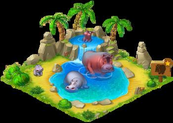 Hippo Enclosure