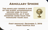 Armillary Sphere Artifact