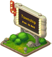 Lamp Town Sign