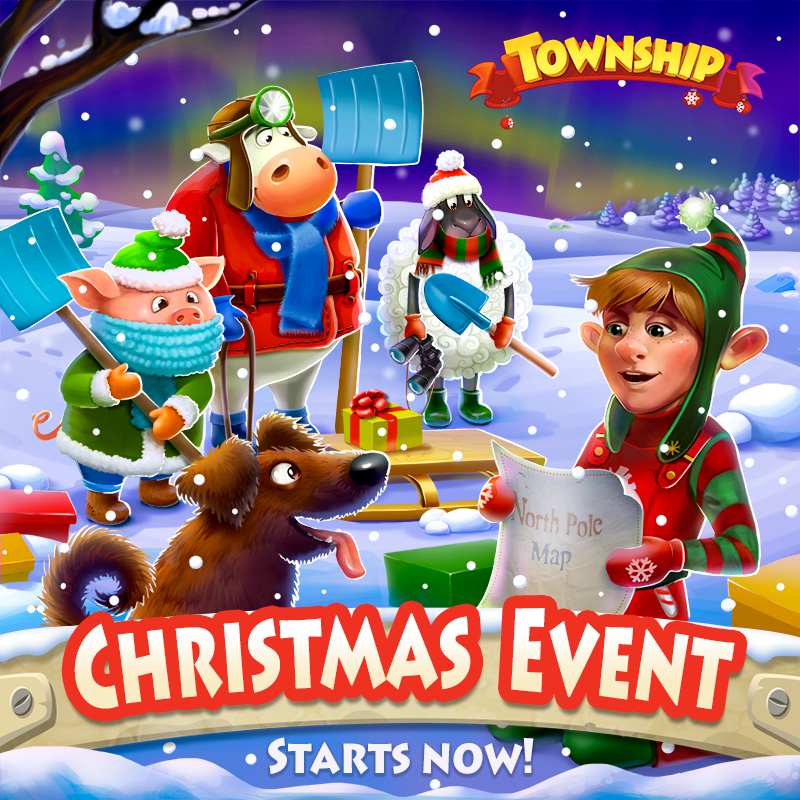 Township Game Christmas Decorations