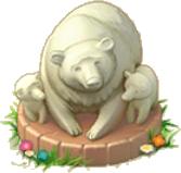 Bear Family Statue