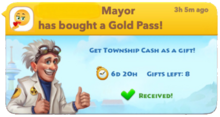 Gold Pass Gifts