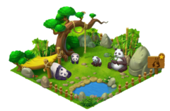 Panda Enclosure