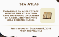 Sea Atlas Artifact