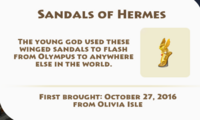 Sandals of Hermes Artifact