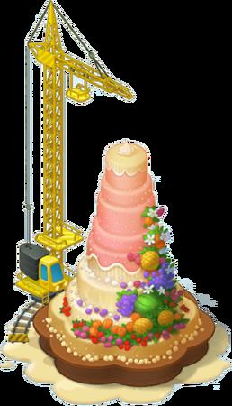 Biggest Cake Layer 6