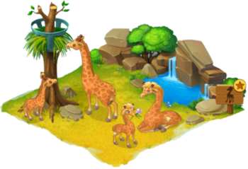 Giraffe Enclosure