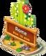 Cactus Town Sign
