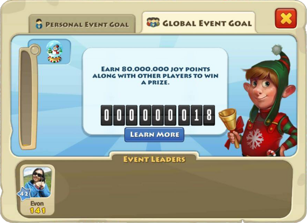Christmas 2014 Global Goal