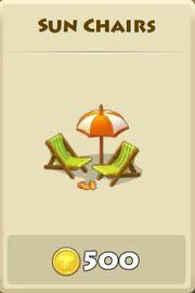 Sun chairs