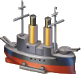 Ironclad Warship Icon