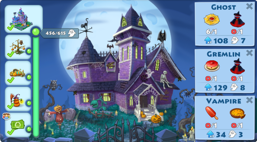 Spooky Castle Event Complete