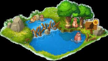 Beaver Enclosure