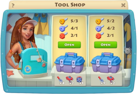 Underwater Adventure Tool Shop