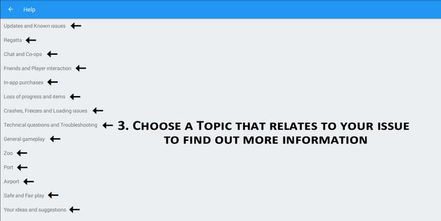 3 Help Topics