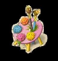Palette Flowerbed