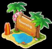 Aloha Town Sign