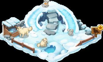 Arctic Fox Enclosure