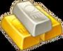 Gold Platinum Ingots Reward