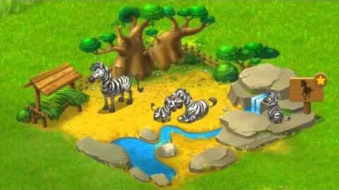 Township Zoo - Zebra-family
