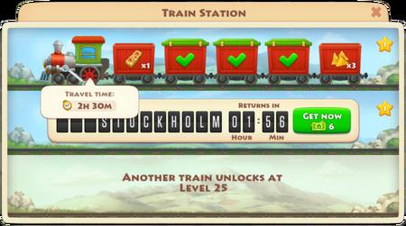 Train timings